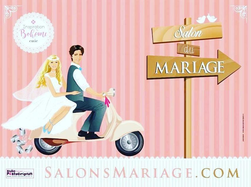 LAMANDINE au salon du mariage